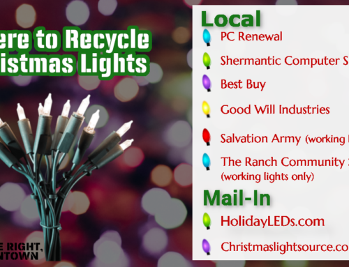 Where to recycle Christmas lights
