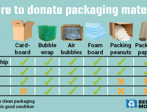 Where to donate packaging materials