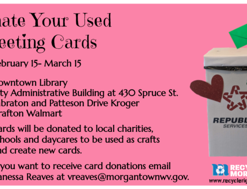 Donate your used greeting cards!